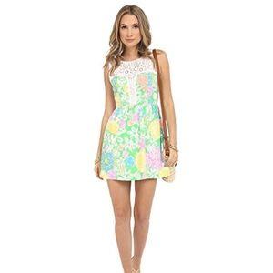 NWT Lilly Pulitzer Raegan Dress Hibiscus Stroll
